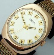 Куплю для себя золотые часы ракета  Советских времен.
