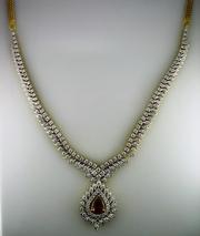 Украшения из золота с бриллиантами. Бриллианты.